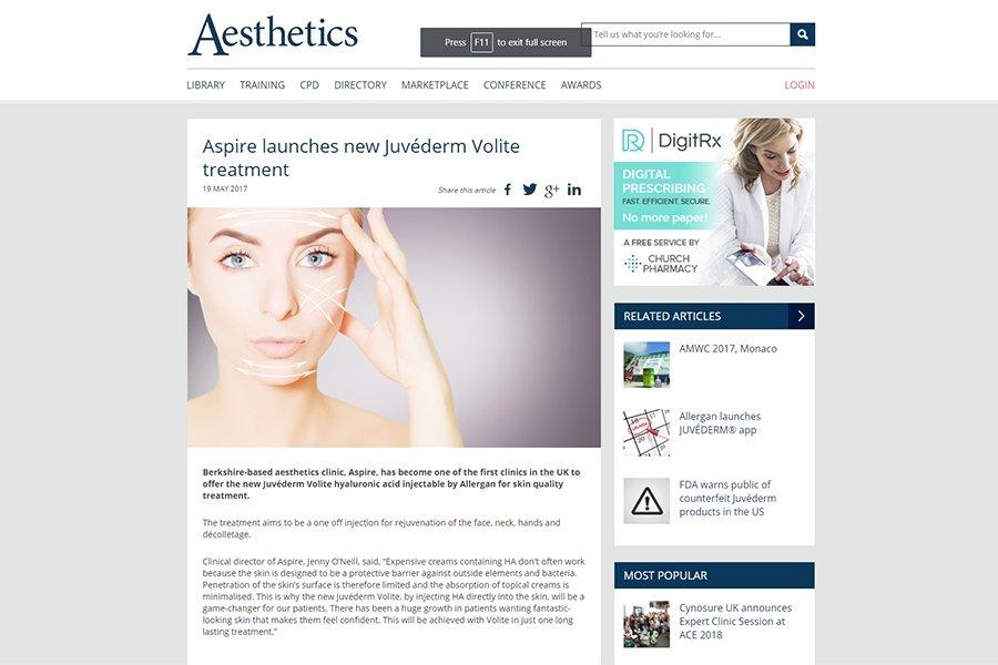 Aesthetics Journal